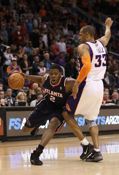 NBA Jordans On Court: Joe Johnson Wears Air Jordan XII PE