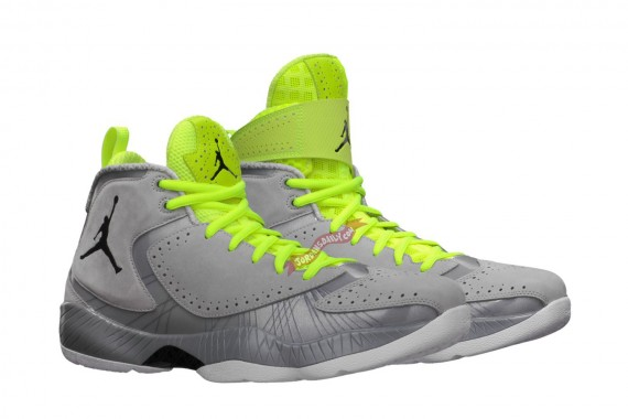 Air Jordan 2012 Deluxe: Wolf Grey   Available at Nikestore