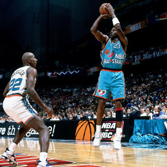 Jordans Daily History Lesson: Michael Jordan at the All Star Game