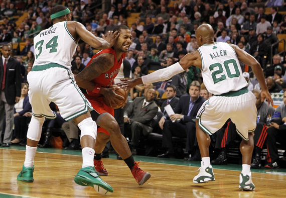 NBA Jordans On Court: Games of February 1 2,2012