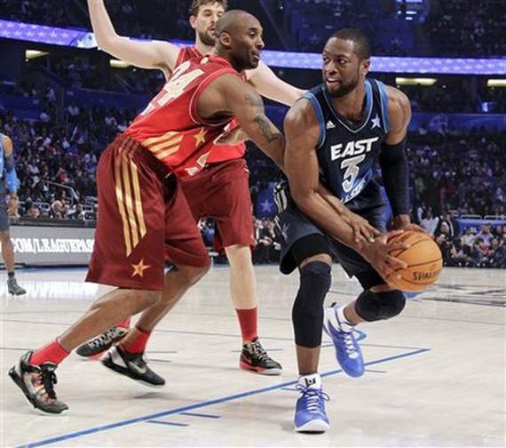 NBA Jordans On Court: All Star Weekend