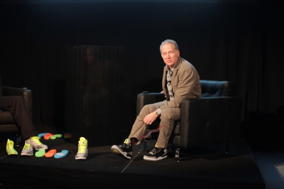Tinker Hatfield Wears Air Jordan III Oregon Pit Crew