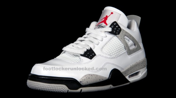 Air Jordan IV Retro: White Cement   Release Reminder