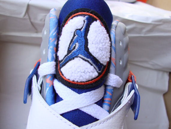 Air Jordan VIII: Fred Jones Knicks Home + Away PEs