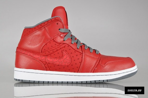 Air Jordan 1 Phat: Varsity Red – Cool Grey – White | Available