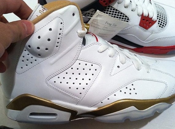 Air Jordan 6/7 Gold Medal Pack   Release Date