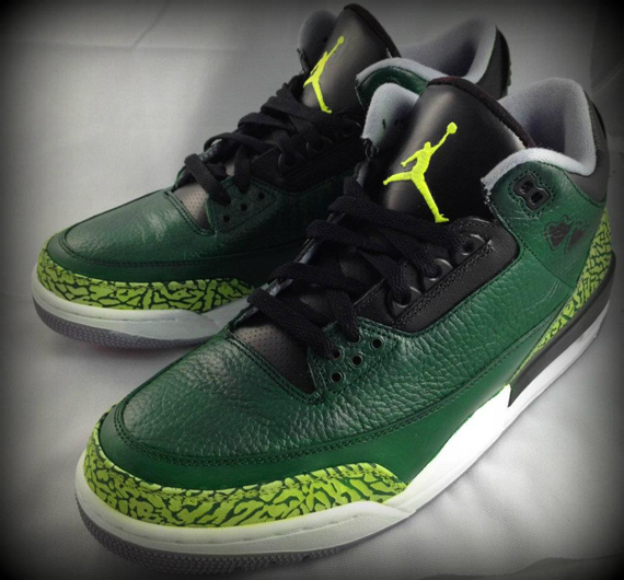 Air Jordan III: Pit Crew Customs By Mache
