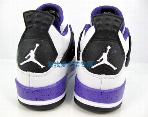 Air Jordan IV GS: Ultraviolet   New Photos