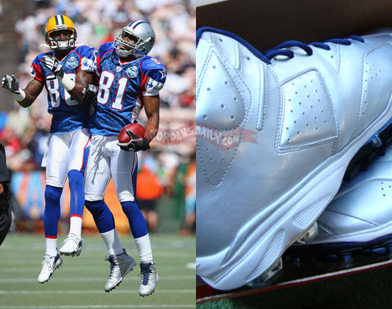 Air Jordan VI: Terrell Owens 2008 Pro Bowl PE Cleats