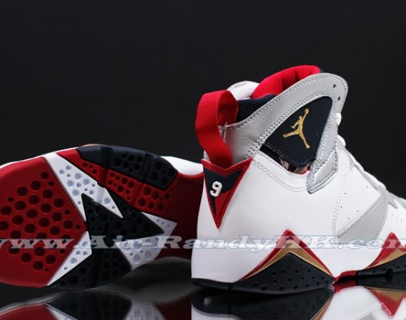 Air Jordan VII GS: Olympic   New Images