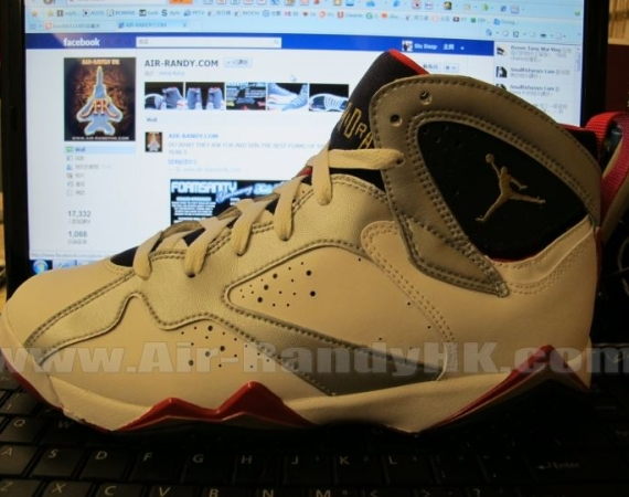 Air Jordan VII GS: Olympic