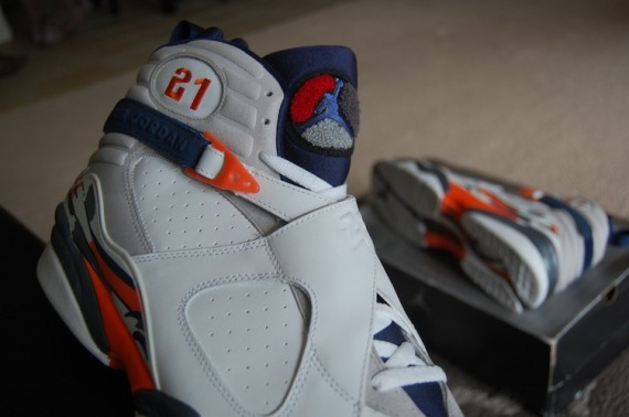 Air Jordan VIII: Darius Miles Cleveland Cavs PE
