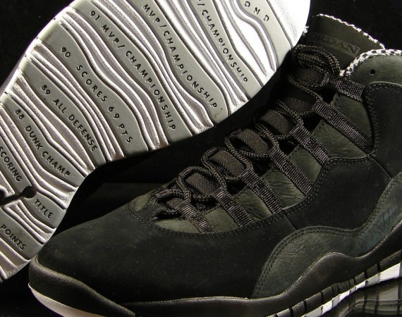 Air Jordan X: Stealth   Release Reminder