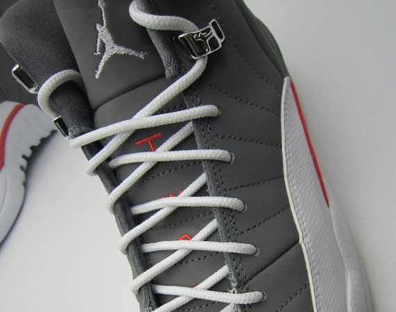 Air Jordan XII GS: Cool Grey
