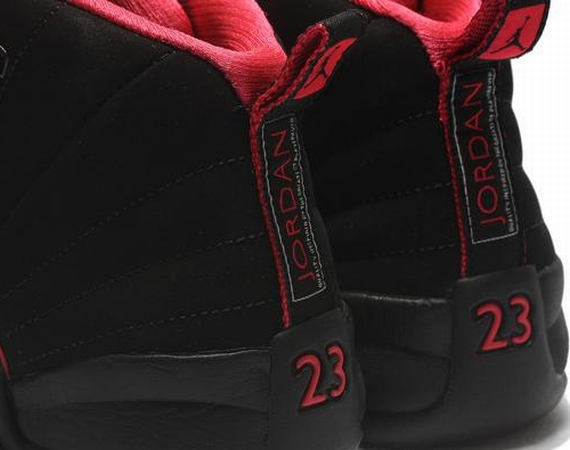 Air Jordan XII GS: Sired Red   Another Look