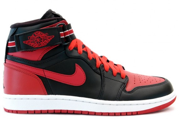 The Daily Jordan: Air Jordan 1 Strap   Black   Varsity Red