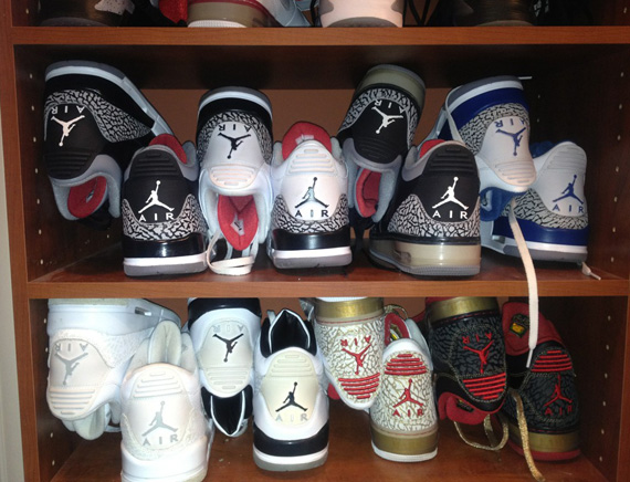 Devin Hesters Air Jordan Collection