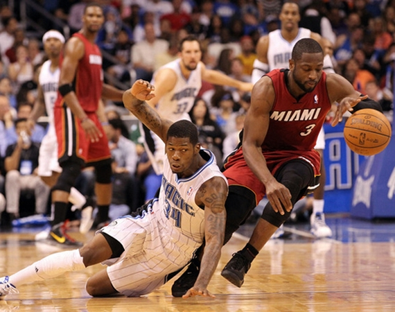 NBA Jordans On Court: Dwyane Wade In Last Shots