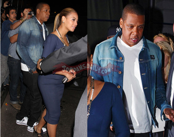 Jay Z in Air Jordan IV White/Cement