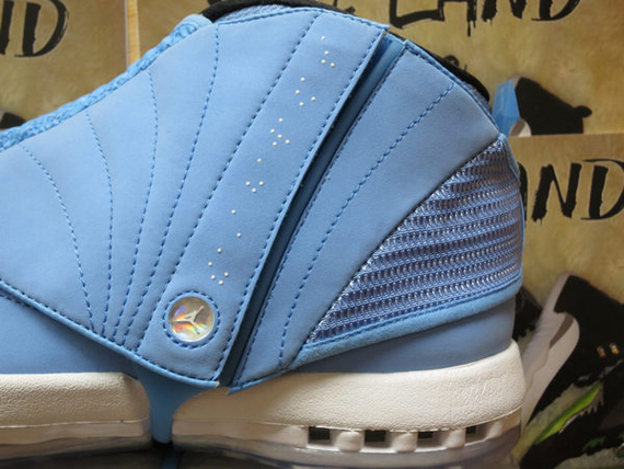 Air Jordan 16: Pantone Sample   New Photos
