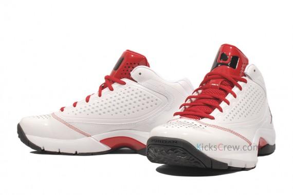 Jordan DReign: White   Black   Varsity Red