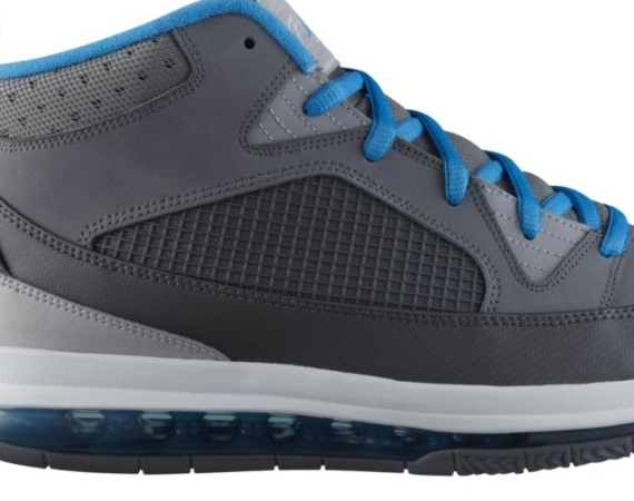 Jordan Flight 9 Max RST   Cool Grey   Current Blue   Wolf Grey