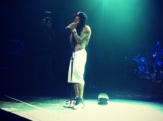 Lil Wayne Wears Air Jordan XII Playoffs @ SXSW