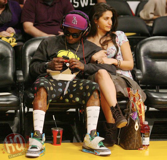 Lil Wayne Wears Jordan Son of Mars Pop Art