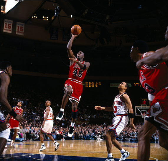 March 28, 1995: Michael Jordan Drops The Double Nickel