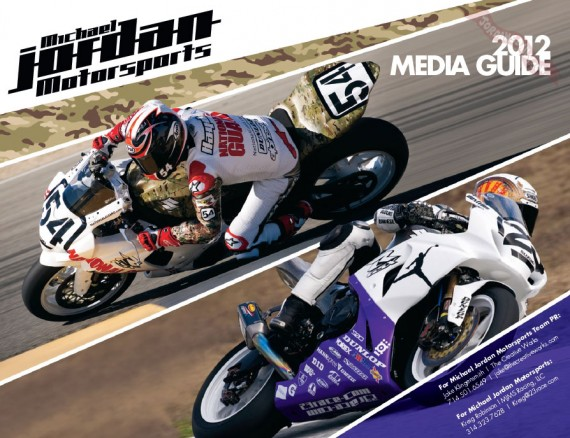 Michael Jordan Motorsports 2012 Media Guide