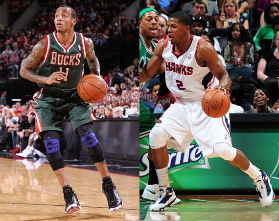NBA Jordans On Court: March 19th   20th