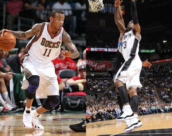 NBA Jordans On Court: March 21st   22nd