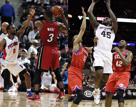 NBA Jordans On Court: March 23rd   25th