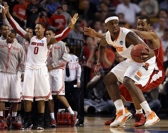 NCAA Jordans On Court: 2012 March Madness Sweet 16