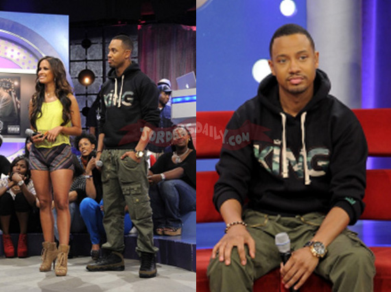 Terrence J in Air Jordan IX Olive