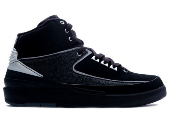 The Daily Jordan: Air Jordan II   Black   Chrome