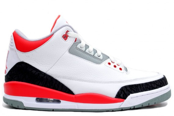 The Daily Jordan: Air Jordan III Fire Red   2007