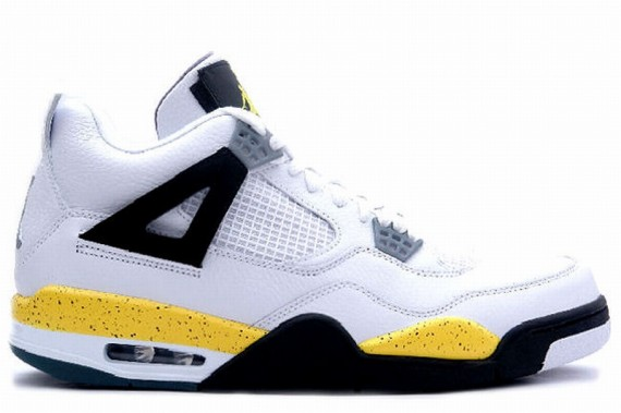 The Daily Jordan: Air Jordan IV Tour Yellow   2006