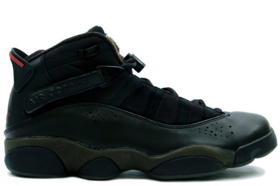 The Daily Jordan: Jordan 6 Rings Dark Army   2008