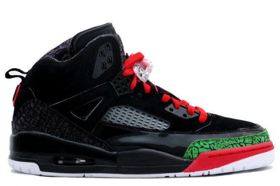 The Daily Jordan: Jordan Spizike   Black   Varsity Red   Classic Green