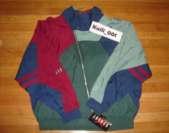 Vintage Gear: Air Jordan Cross Zip Windbreaker