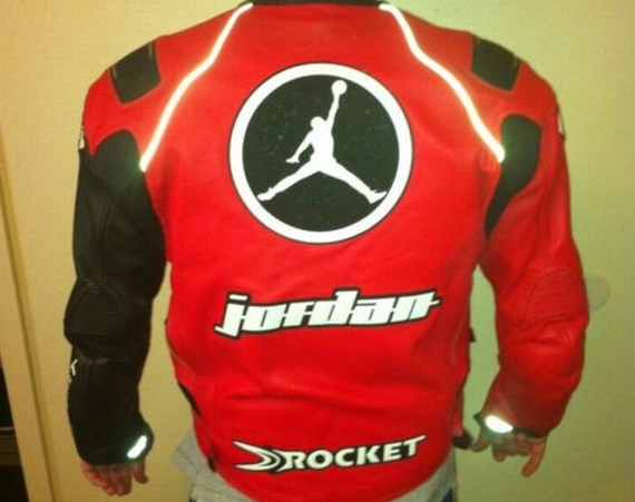 Vintage Gear: Michael Jordan Motorsports Leather Jacket