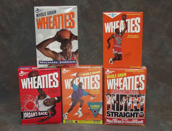 Vintage Gear: Michael Jordan Wheaties Box Collection
