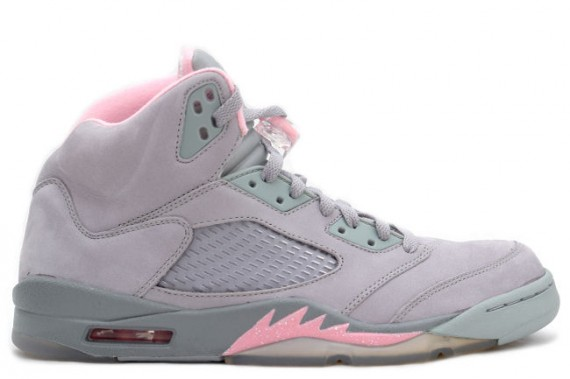 The Daily Jordan: WMNS Air Jordan V   Silver   Shy Pink
