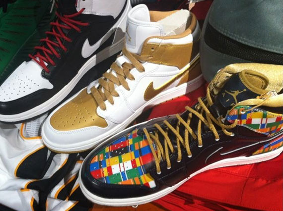 Air Jordan 1 High: Olympic Pack