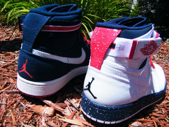 Air Jordan 1 Strap: Olympic Pack