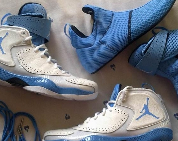 Air Jordan 2012 iD: UNC Edition