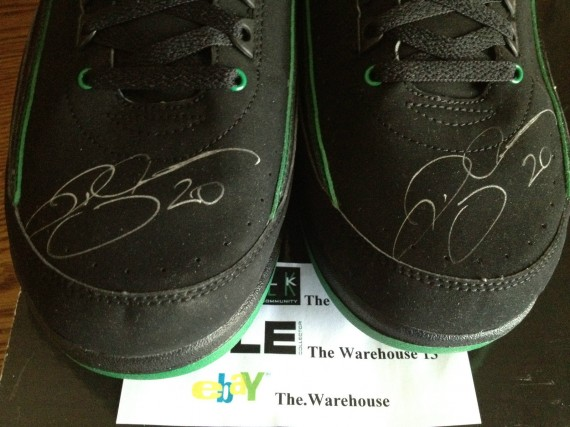 Air Jordan II: Autographed Ray Allen PE