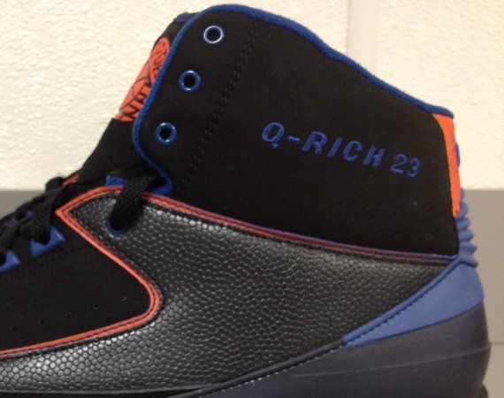 Air Jordan II: Quentin Richardson Knicks Away PE