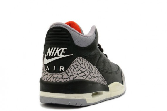 The Daily Jordan: Air Jordan III   Black   Cement Grey   2001